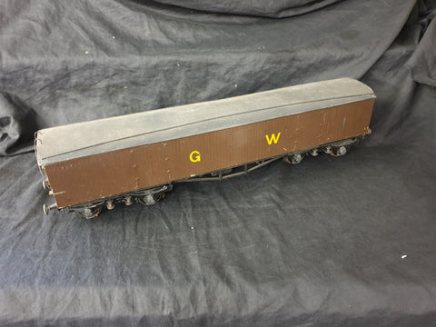 Gauge 1 10mm scale GWR inside frame syphon wagon