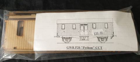 Ken West GWR P20 Python CCT Wagon body kit