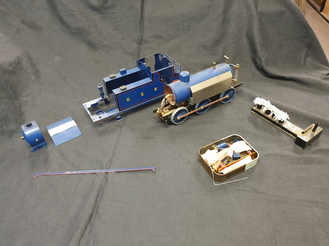 Gauge 1 Aster GER Tank engine project