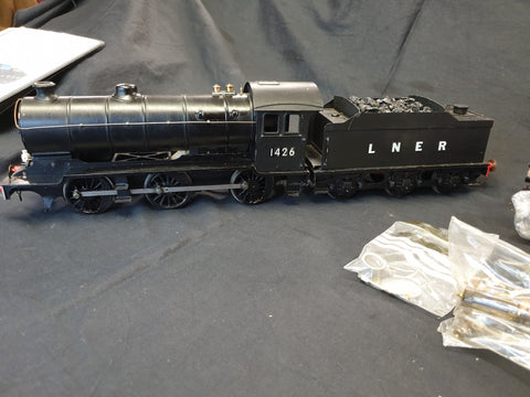 Gauge 1 Barrett Engineering J38 loco (converted to electric control)