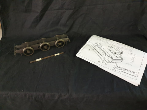 Part built Gauge 1 JINTY with full set of plans
