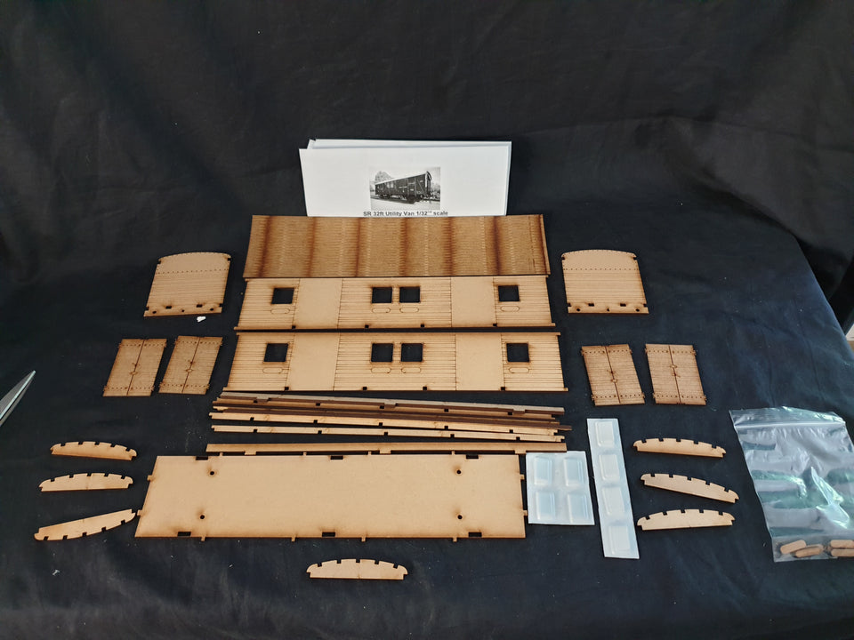 Ken West Gauge 1 Laser Cut Wagon kits