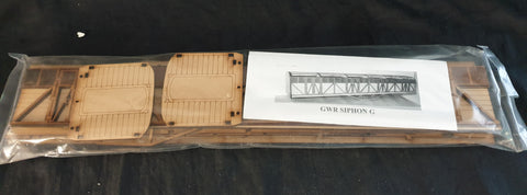 GWR Outside frame Syphon kit 10mm scale