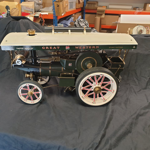 Markie 12th scale Showmans engine.