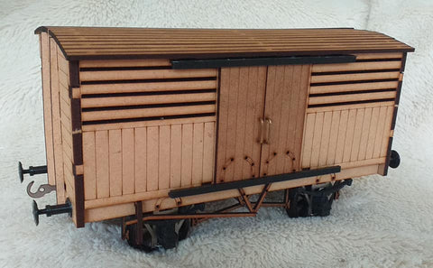 Ken West GN Fish Van 10mm or 1;32nd Scale (MDF Version)