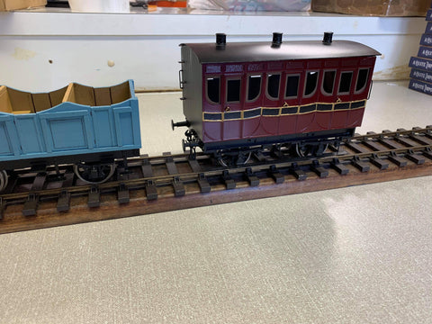 Gauge 1 - 1;32 scale L&MR Coaches