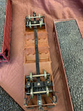 6x Bachmann Gauge 1/G-scale Coal Hoppers with loads.