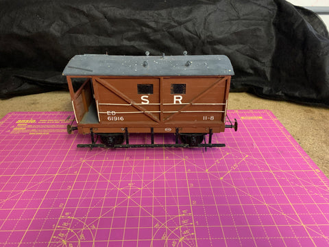 Gauge 1 10mm scale Southern Railway 4 wheel Brake van