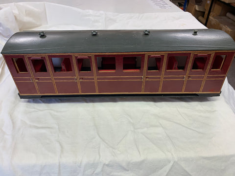 Talyllyn Railway Bogie coach 16mm Scale 32mm Gauge