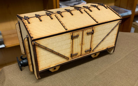 Ken West 16mm scale Freelance Lime Wagon