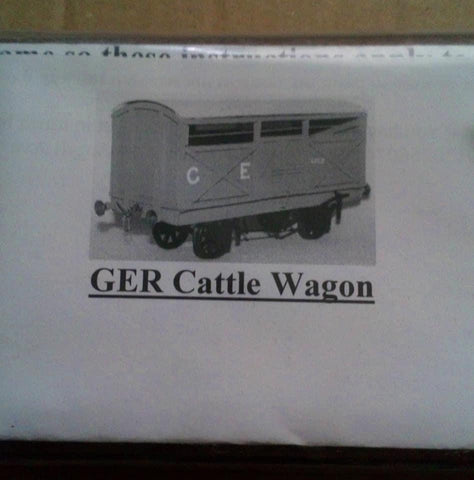 GER Cattle wagon