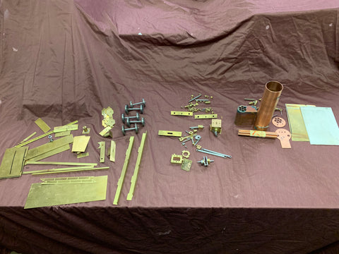 Gauge 1 10mm scale Parts for Johnson Belpair 4-4-0