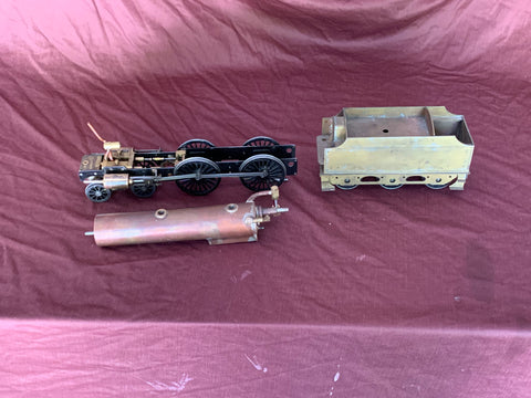 Gauge 1 - 10mm  scale Midland compound Live Steam Project