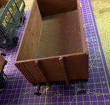 3 x Gauge 1 10mm scale Private Owner wagons