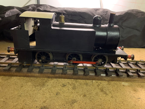 "Gauge 1 - 10mm scale LBSC ""Chingford Express"" 0-6-0 Live Steam Loco"