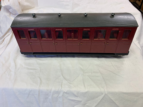 Talyllyn Railway Small Bogie coach 16mm Scale 32mm Gauge