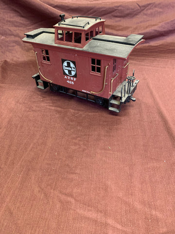 Bachmann Gauge1/G-Scale Sante-fe 4 wheeled Caboose