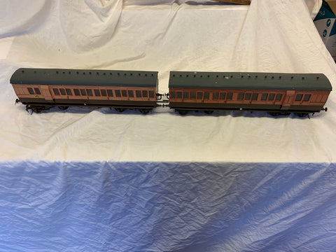 Gauge 1 - 10mm scale - LSWR coach Set
