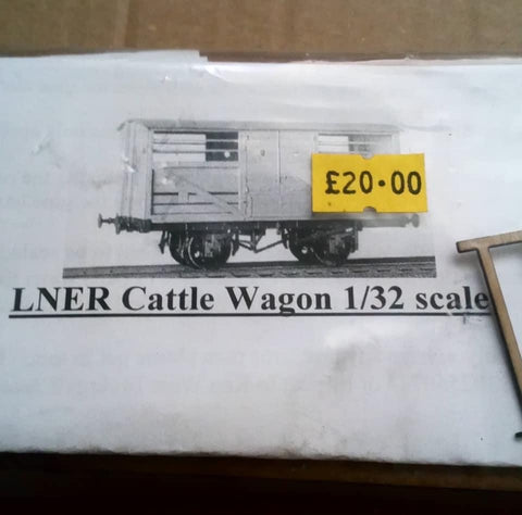 LNER Cattle wagon 1:32nd scale