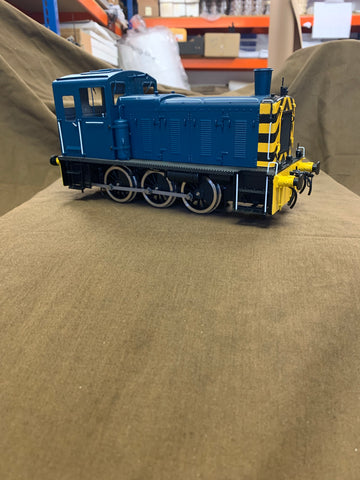 Gauge 1 1:32nd scale Bachmann Brassworks 03 shunter. NIB