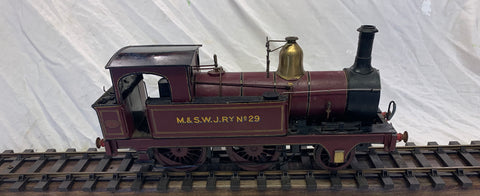 Gauge 1 10mm scale - MSWJR No 29 2-4-0 Tank