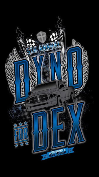 2017 Dyno for Dex T-Shirts