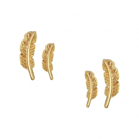 Feather, 14k