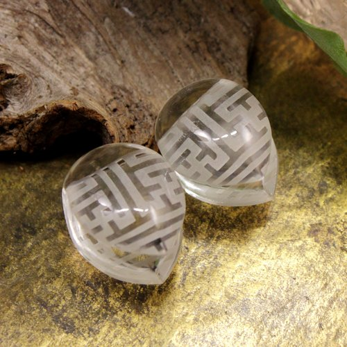Sayagata Shield Weights, Crystal 16mm