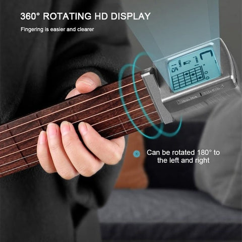 Chord Pal Best Pocket Guitar with Display- guitarmetrics