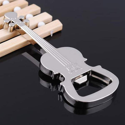 Guitar shaped bottle opener- guitarmetrics