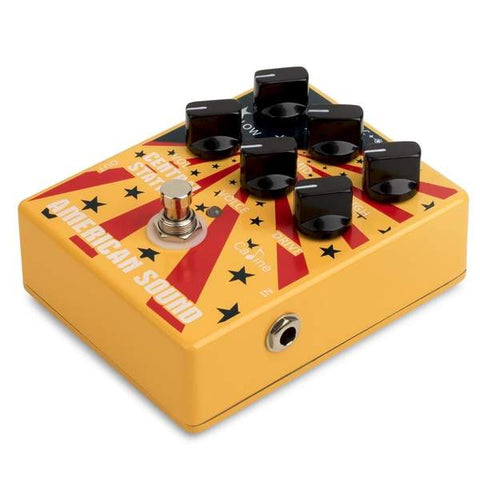 Caline distortion pedal for guitar- guitarmetrics