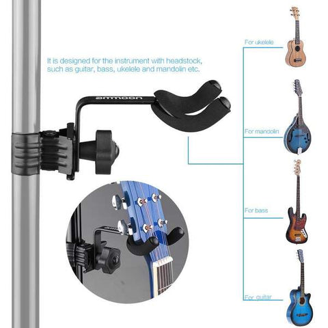Ammoon Guitar stand(clip-on)- guitarmetrics