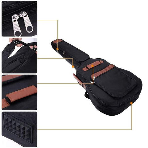HLBY Best Waterproof Guitar Gig Bag- guitarmetrics