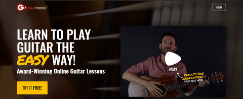 guitar tricks- guitarmetrics blog