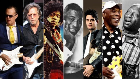 Best blues guitarists- guitarmetrics