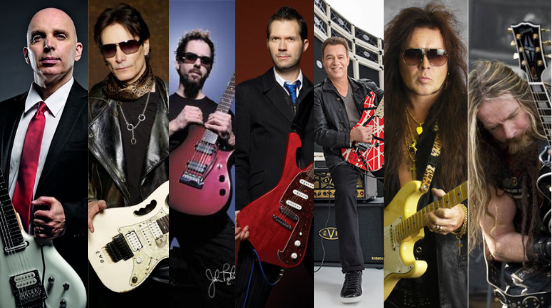 Top Guitar Virtuoso's of the World