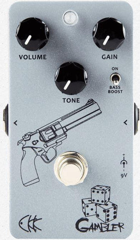CKK Gambler High-Gain best Overdrive Effects Pedal- guitarmetrics