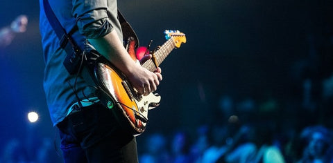 how to overcome stagefright as a guitarist- guitarmetrics