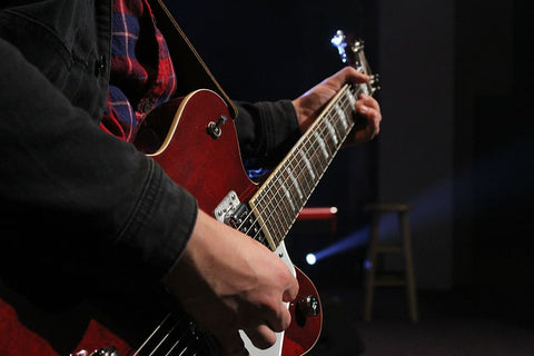 How to overcome stage fright as a guitarist- guitarmetrics