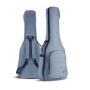 Acoustic guitar carry bag Jophy™ guitarmetrics Light blue