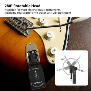 Ammoon Wireless Guitar System 2.4g guitarmetrics