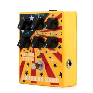 Caline™ American sound overdrive and distortion pedal guitarmetrics