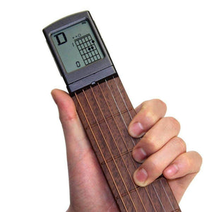 Chord Pal™ Pocket Guitar Practice Tool With Display guitarmetrics