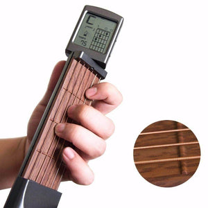 Chord Pal™ Pocket Guitar Practice Tool With Display guitarmetrics with bag China