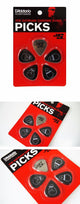 D'Addario™ Joe Satriani guitar picks guitarmetrics