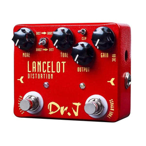 Dr j lancelot distortion Guitar Effects Pedal guitarmetrics