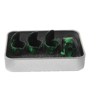 Finger picks for Guitar guitarmetrics Green