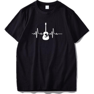 Guitar beat T shirt guitarmetrics Black 1 EU Size L
