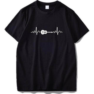 Guitar beat T shirt guitarmetrics Black 3 EU Size L