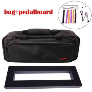 Guitar Effects Pedal bag with pedalboard. guitarmetrics pedalboard With bag China